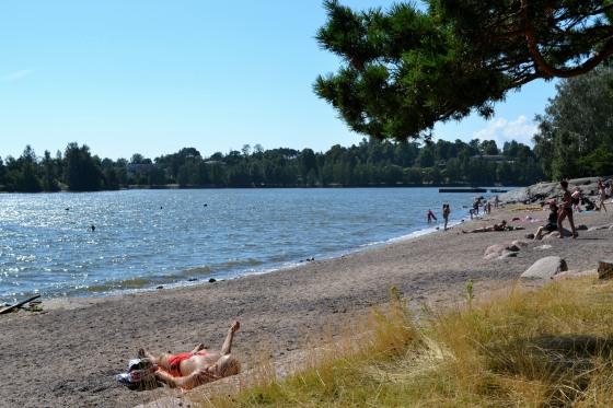 Mustikkamaa beach